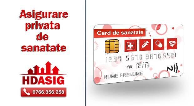 asigurare de sanatate - card privat de sanatate