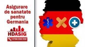 asigurare medicala de sanatate pentru Germania