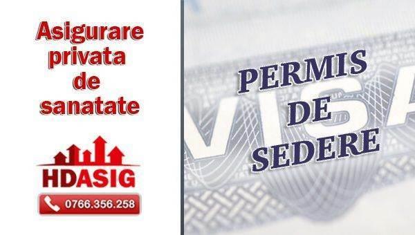 Asigurare pentru permisul de sedere in Romania