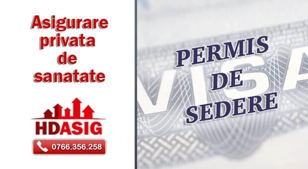 asigurare pentru obtinerea permisului de sedere